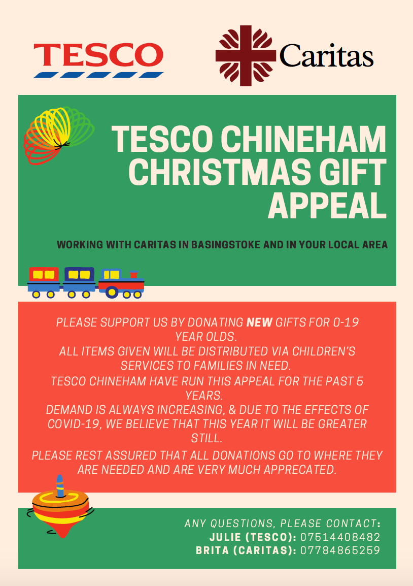 Tesco Toy Appeal 2020