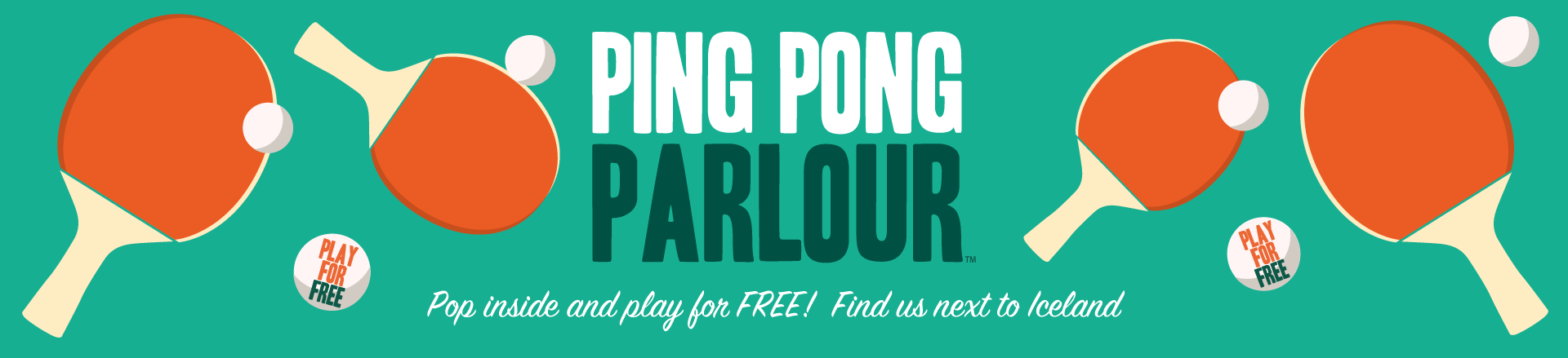 Ping Pong Parlour banner